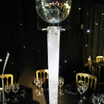 lighting, party decor, illuminated centre pieces
